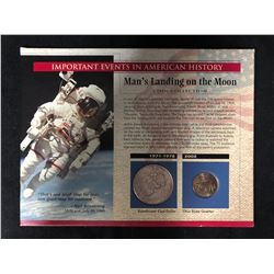 MAN'S LANDING ON THE MOON COIN COLLECTION