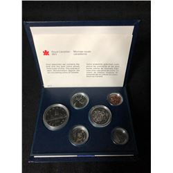 1983 CANADIAN 6 PIECE COIN SET (ROYAL CANADIAN MINT)