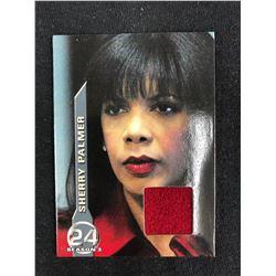 "24 / Twenty Four Season 3 - M4 ""Sherry Palmer's Red Coat"" Costume Card"