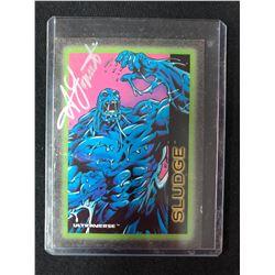 1993 SkyBox Ultraverse #80 Sludge Non-Sports Card AUTO