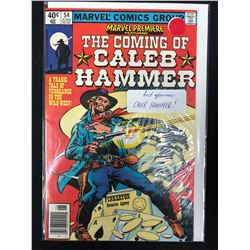 THE CALLING OF CALEB HAMMER #54 (MARVEL COMICS)