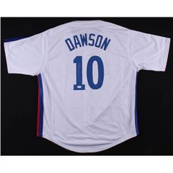 Andre Dawson Signed Montreal Expos Jersey (JSA COA)