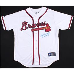 "Dale Murphy Signed Braves Jersey Inscribed ""NL MVP 82, 83"" (Radkte COA)"