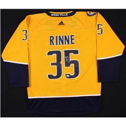Pekka Rinne Signed Nashville Predators Adidas Jersey (JSA COA)