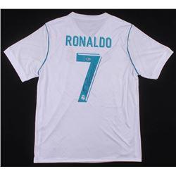 Cristiano Ronaldo Signed Real Madrid CF Adidas Jersey (Beckett COA)