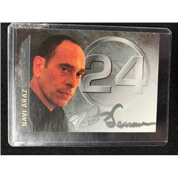 NAVI ARAZ SIGNED 24 AUTOGRAPHED CARD