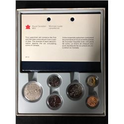 ROYAL CANADIAN MINT CASED 6 COIN SET