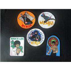 BRUCE LEE PATCHES LOT