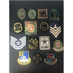 EMBROIDERED ARMY PATCHES