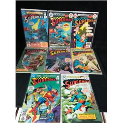 SUPERMAN COMIC BOOK LOT (DC COMICS)
