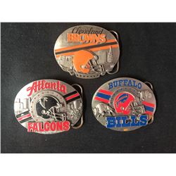 LIT EDITION SISKIYOU BELT BUCKLES LOT