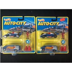 HOT WHEELS AUTO-CITY TOY CAR LOT (BRAND NEW)