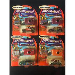 "Matchbox Around the World 3"" Toy Cars"