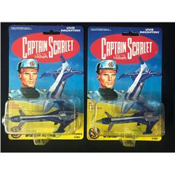 1993 Captain Scarlet & the Mysterons - Captain Blue's Spectrum Jet Liner Lot