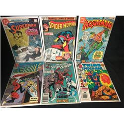 COMIC BOOK LOT (AQUAMAN/ SUPERMAN/ SPIDER-MAN...)