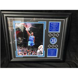 KEVIN DURANT OKC THUNDER FRAMED PHOTO/ STATS DISPLAY