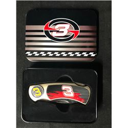 Collectible NASCAR Dale Earnhardt Jr. Folding Pocket Knife