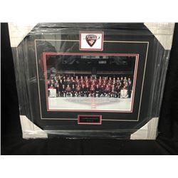 2013-14 VANCOUVER GIANTS FRAMED TEAM PHOTO