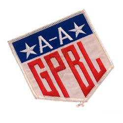 """A League of Their Own – """"Girls Professional Baseball League"""" Patch - II335"""
