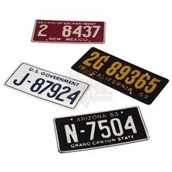 Breakdown – Red Barr's (J.T.Walsh) Stolen Car License Plates - II287