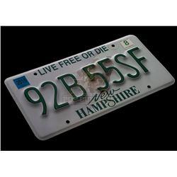 Fallen – Lucinda Price (Addison Timlin) Family Car License Plate - II243