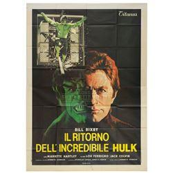 Incredible Hulk, The – Original Vintage 1981 Theatrical Release Poster - II407