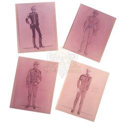 Last Starfighter, The – Character & Costume Design Prints - II345