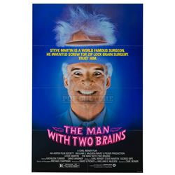 Man With Two Brains, The – Original Vintage One Sheet Poster - II390