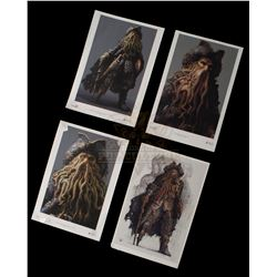 Pirates of the Caribbean: Dead Man's Chest – Davy Jones Character Design Prints - II226