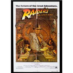 Raiders of the Lost Ark – Original Vintage Printer's Proof One Sheet Poster - II393