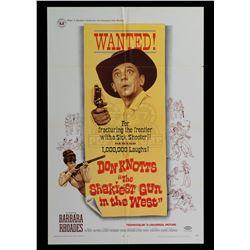 Shakiest Gun in the West, The – Original Vintage One Sheet Poster - II385