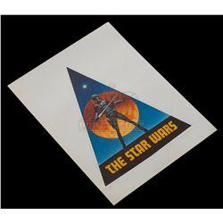 Star Wars: A New Hope - Original Vintage Production Sticker (Large) - II223