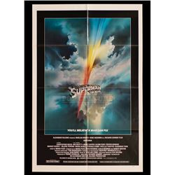 Superman The Movie – Original Vintage International One Sheet Poster - II387