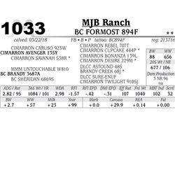 BC FORMOST 894F