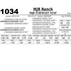 MJB FORMOST 924F