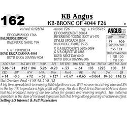 KB-Bronc of 4044 F26