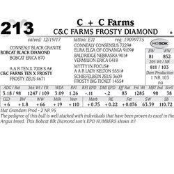 C&C Farms Frosty Diamond