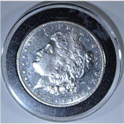 1887-S MORGAN DOLLAR, BU PL