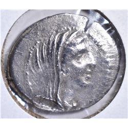 270-229 BC SILVER DRACHM CORCYRA