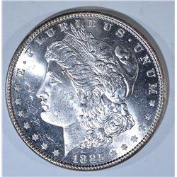 1885 MORGAN DOLLAR, CH BU PL