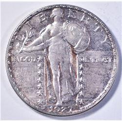 1927-S STANDING LIBERTY QUARTER CH BU