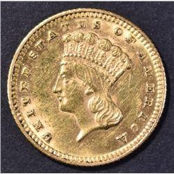 1870 TYPE 3 $1 GOLD BU