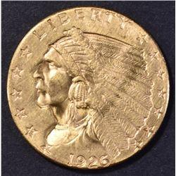 1926 $2.5 GOLD INDIAN CH BU