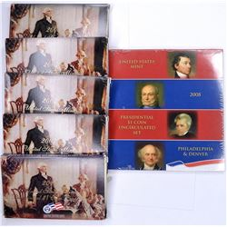 3-2007, 1-08 1-09 PRESIDENTIAL PROOF SETS