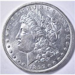 1897-O MORGAN DOLLAR BU