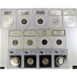 MODERN U.S. COIN LOT: (2)