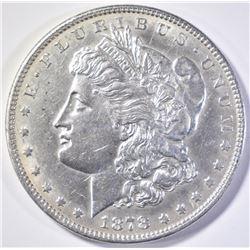 1878 7/8TF MORGAN DOLLAR  AU/BU