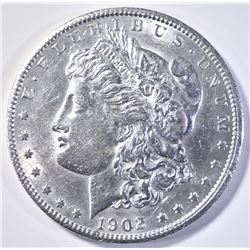 1902-S MORGAN DOLLAR  AU/BU