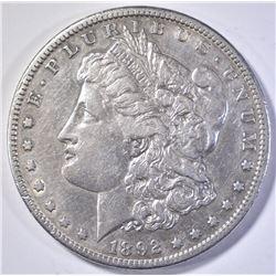 1892-S MORGAN DOLLAR  XF+
