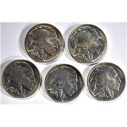 1-1934, 1-35, 1-36, 1-36-D 1-37 CH BU BUFFALO NICK
